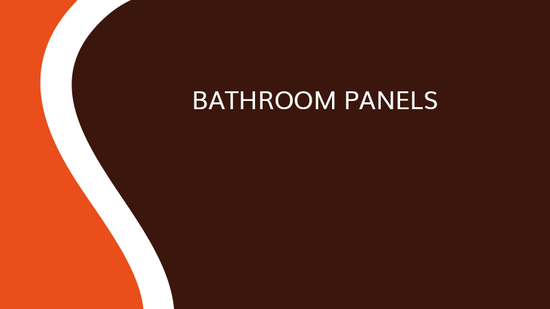 Bathroom panels - Interior fittings - Saônoise de Tiroirs et Contreplaqués