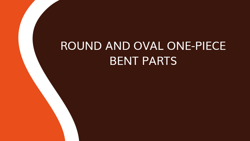 Round and oval one-piece bent parts - Interior fittings - Saônoise de Tiroirs et Contreplaqués
